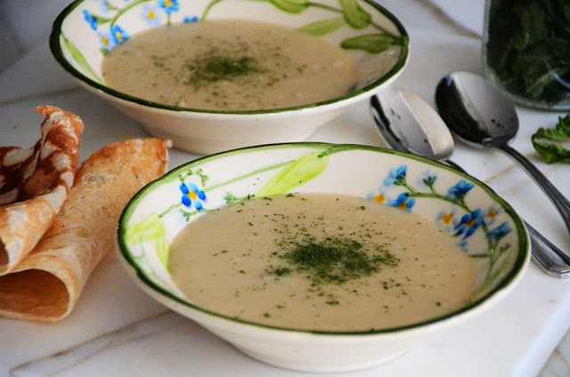 Kishk Soup with Garlic