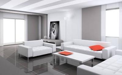 Contoh Warna Desain Interior Masa Kini