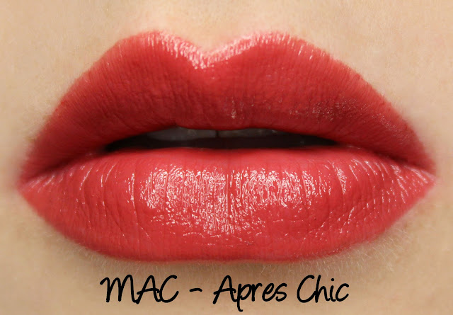 MAC MONDAY | Apres Chic Lipstick Swatches & Review