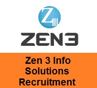 Zen3 InfoSolutions Recruitment