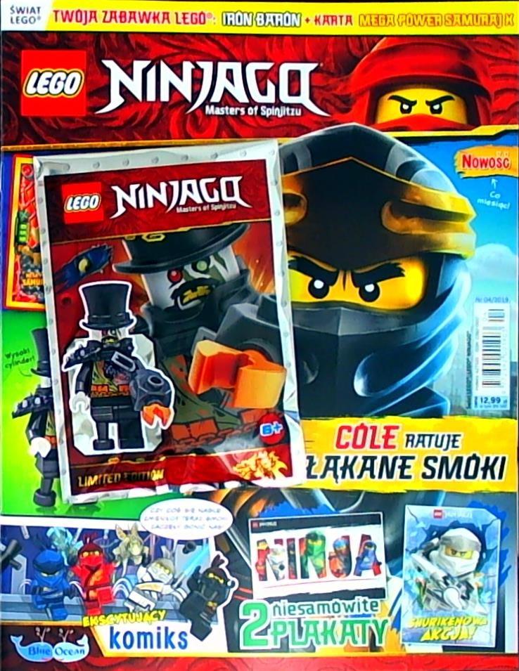 Lego Okazje Magazyn Lego Ninjago 42019 Już W Kioskach