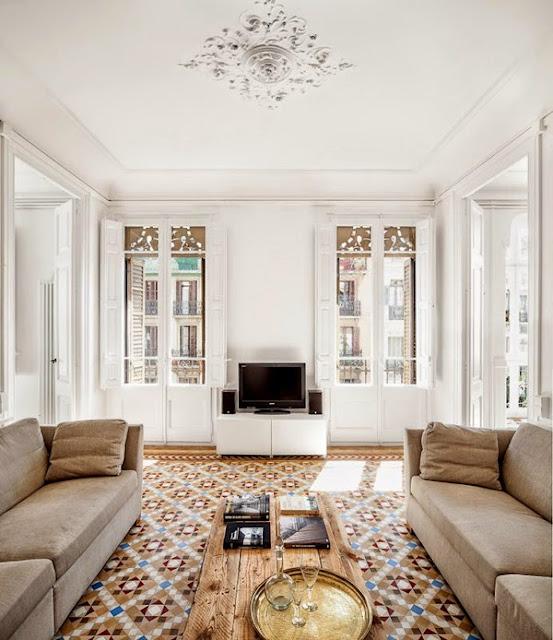 Barcelona Apartments: Interior: Renovated Apartment In Barcelona