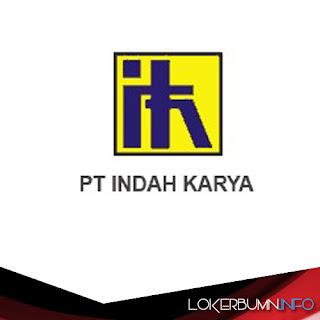 Lowongan Kerja BUMN di PT Indah Karya (Persero) 2017