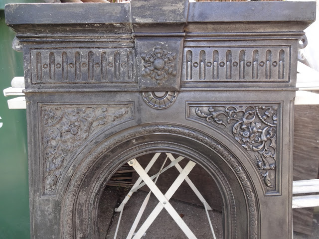 Cleaning Intricate Detail on a Victorian Fireplace