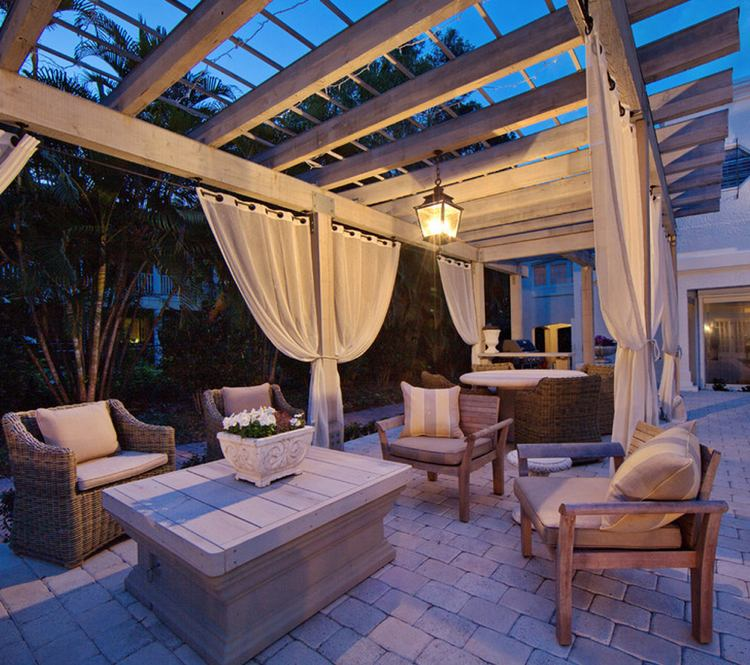 Pergola Designs With Curtains: 30 Pergola Design Ideas With Curtains To Turn Your Garden