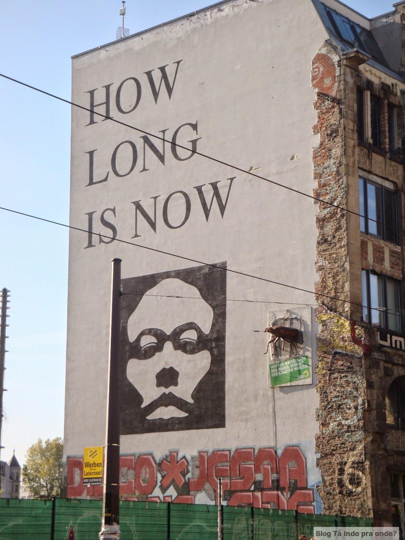 street art em Berlim