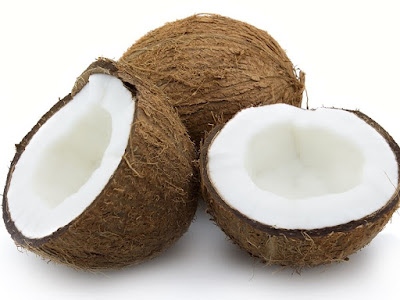coconut fruit, used for survival and emergency