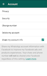 How to Stop WhatsApp from Sharing your Account Information with Facebook
