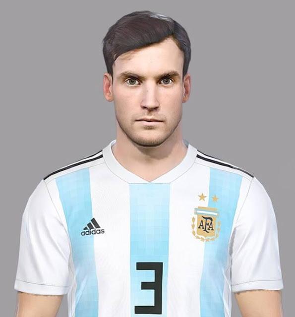Nicolas Tagliafico Face PES 2018