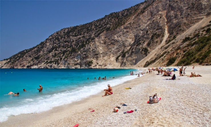 Myrtos – the Most Picturesque Beach in (Hellas) Greece