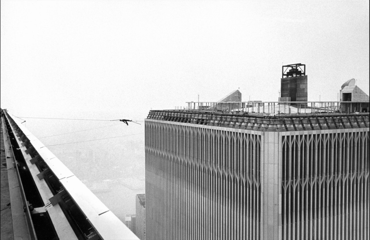 Shocking Photographs Of Philippe Petit S Twin Towers