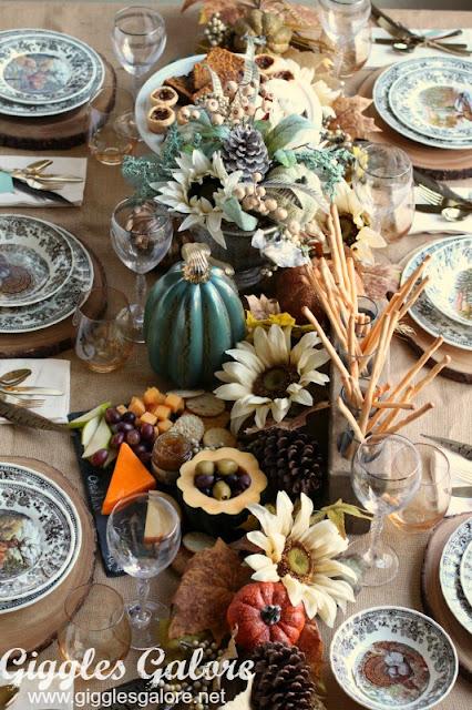 Fall Harvest Table