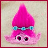 Gorro Poppy a crochet