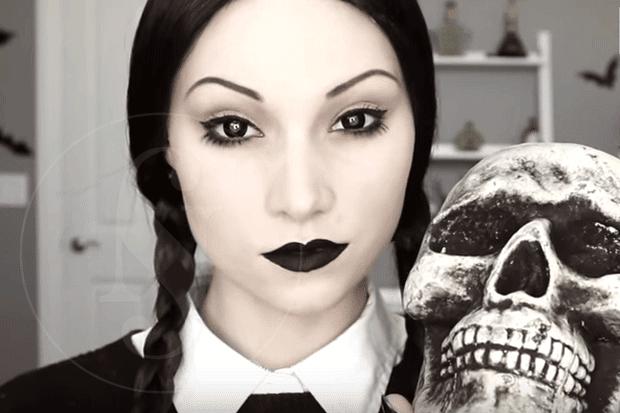Videos De Maquillaje De Halloween.Tutoriales De Maquillaje Para Halloween Chic Too Chic