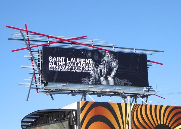 Saint Laurent Palladium Feb 2016 billboard