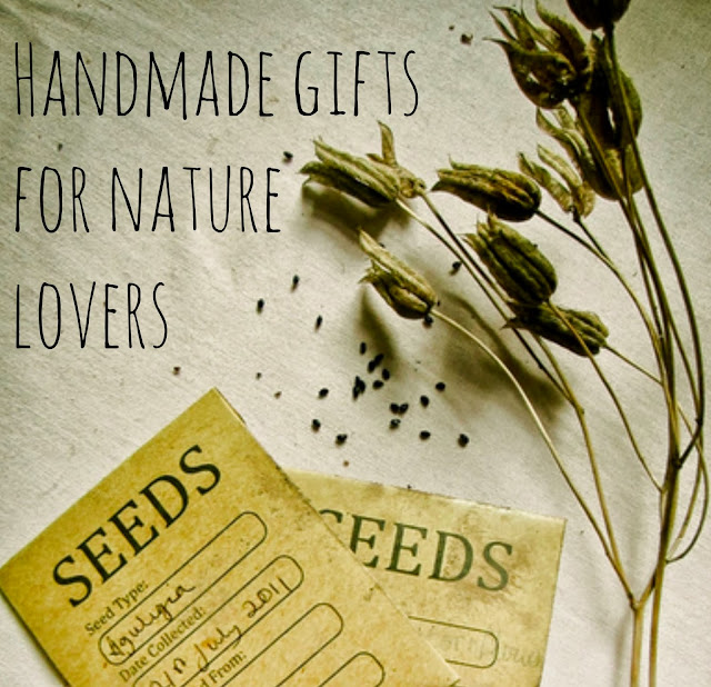 Handmade gifts for nature lovers