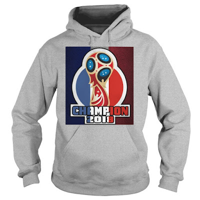 FRANCE World Cup Champion 2018 T Shirt Hoodie Sweatshirt Tank Tops