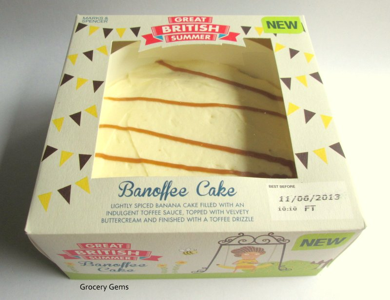 Toffee Flavoured Cake