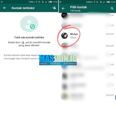 Inilah cara memblokir nomor whatsapp terbaru 2019