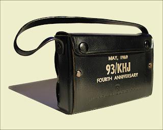 KHJ Boss Transistor Radio (Rear)