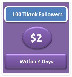 100 buy real Tiktok Followers