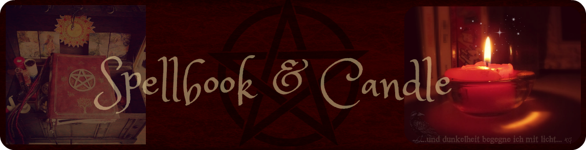 Spellbook and Candle