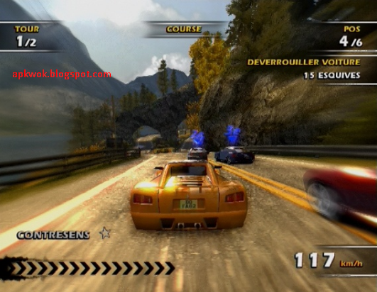Download Games Burnout 3 Takedown PS2 Full ISO CSO Android
