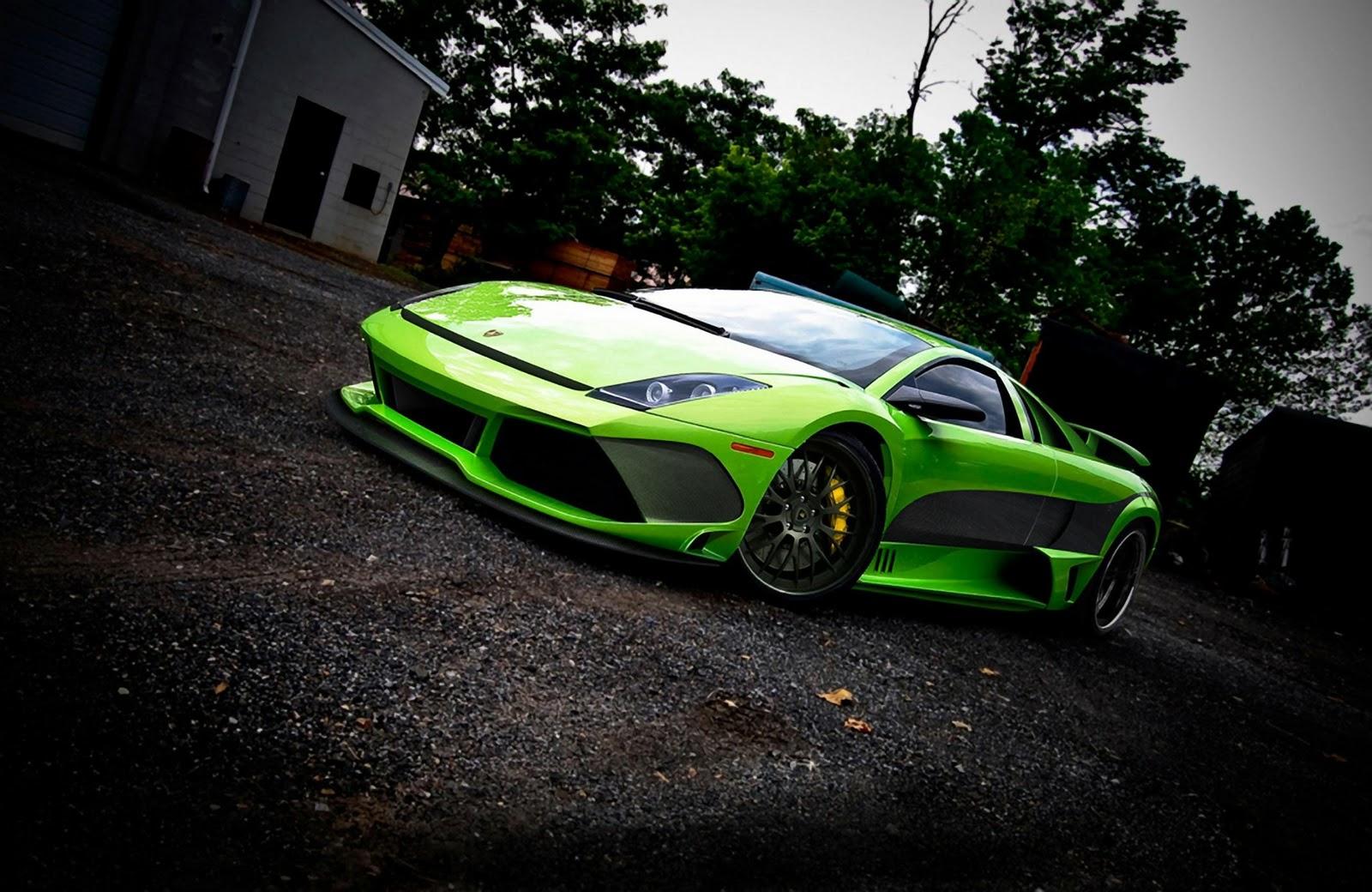 Wallpapers Green And Lamborghini On Pinterest: Green Lamborghini Gallardo Wallpaper HD