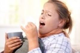 gambar orang kena gangguan asma/sesak nafas