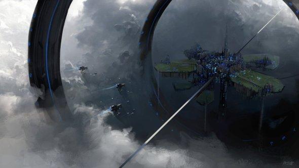 Brandon Liao deviantart artstation ilustrações ficção científica fantasia cyberpunk sombrio