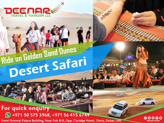 desert safari deenar travels