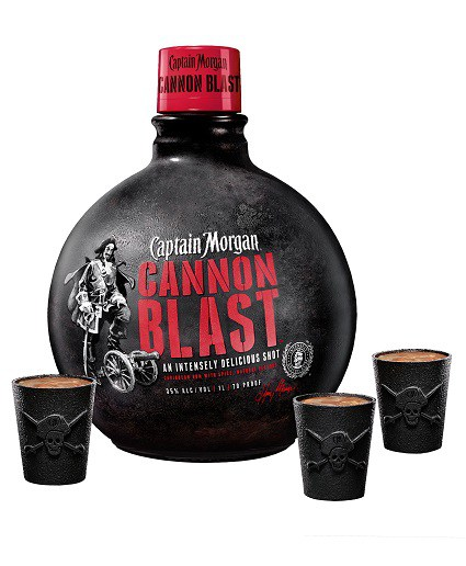 Captain Morgan Cannon Blast Rum Review YouTube