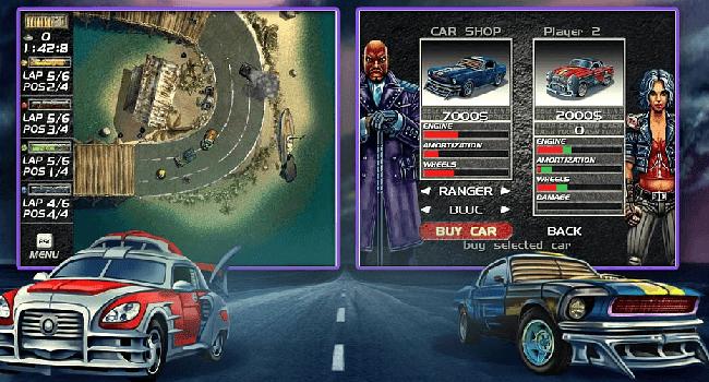 تحميل لعبة السيارات mad cars مجانا للكمببوتر برابط مباشر