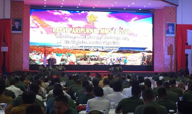 Bupati Tebo Hadiri Undangan Paripurna TMMD Ke - 39 Tahun Anggaran 2018 Di Jakarta