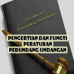 Pengertian Dan Fungsi Peraturan Perundang Undangan