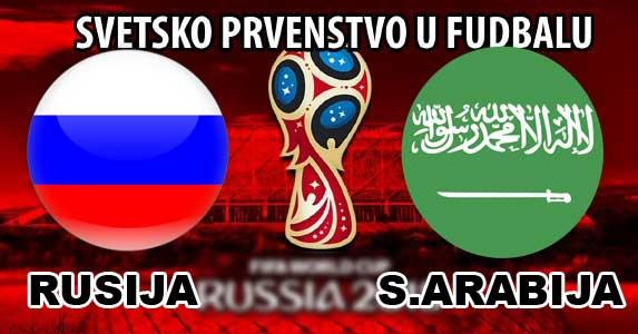 Svetsko Prvenstvo Rusija Saudijska Arabija Livestream