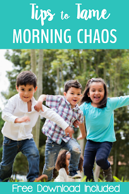 Great tips to tame the morning chaos and channel all that enthusiasm into learning!