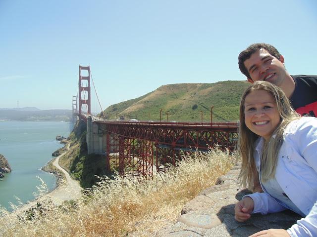Local para tirar ótimas fotos com a Golden Gate, em San Francisco.