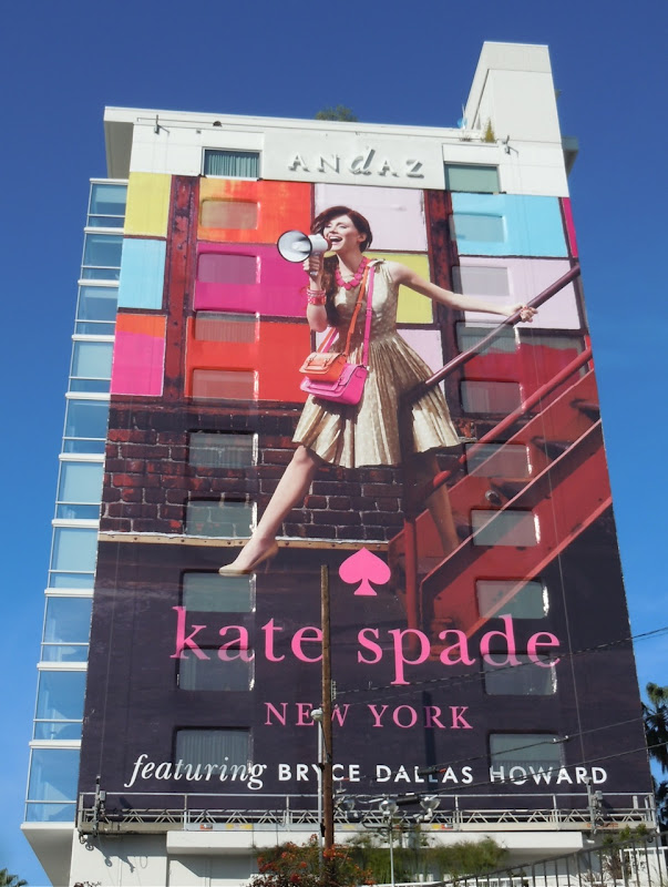Kate Spade New York billboard
