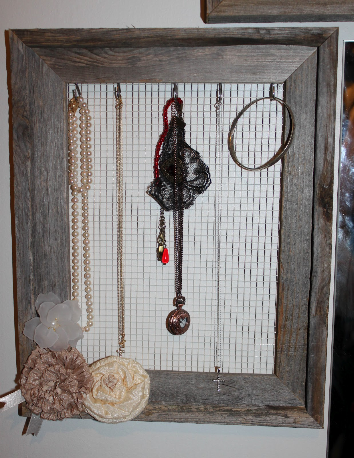 Schmuck Bilderrahmen What A Little Birdie: Picture Frame Jewelry Holder