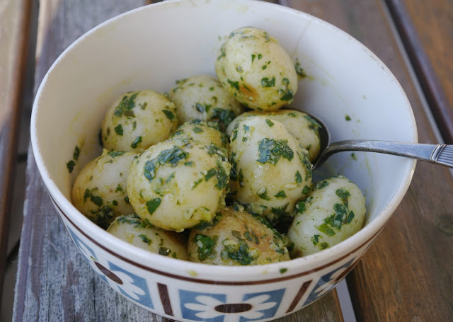 italiensk potatissallad