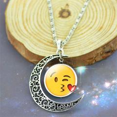 Emoji Moon Necklace