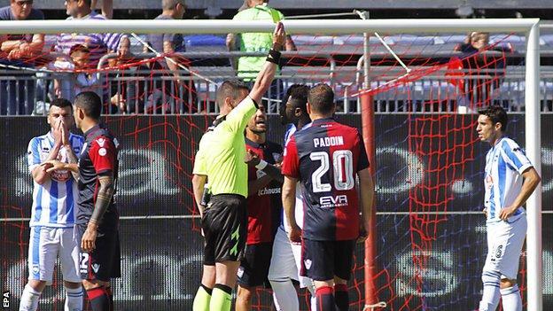 Sulley Muntari: Pescara player says Fifa and Uefa 'don't care'