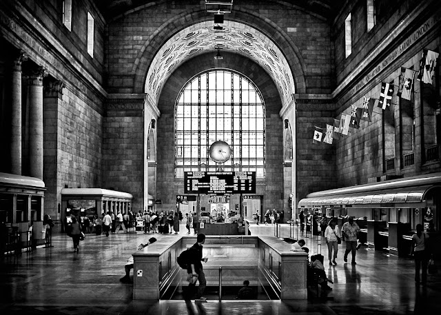 Toronto Union Station 3:23PM by The Learning Curve Photography