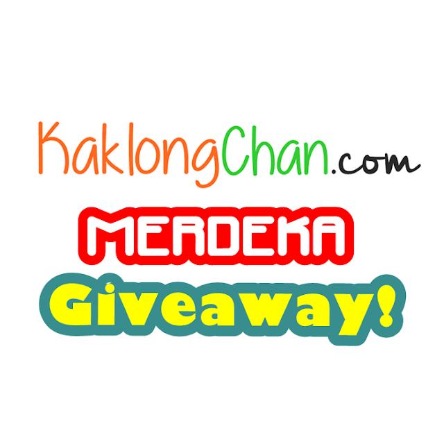 KaklongChan.com Merdeka Giveaway!