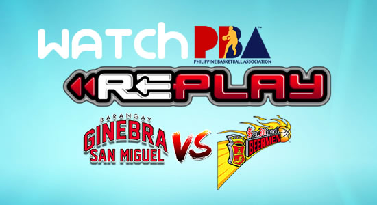 Video List: Ginebra vs SMB game replay March 11, 2018 PBA Philippine Cup