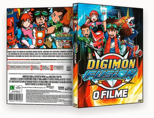 CAPA DVD – Digimon Fusion O Filme – ISO
