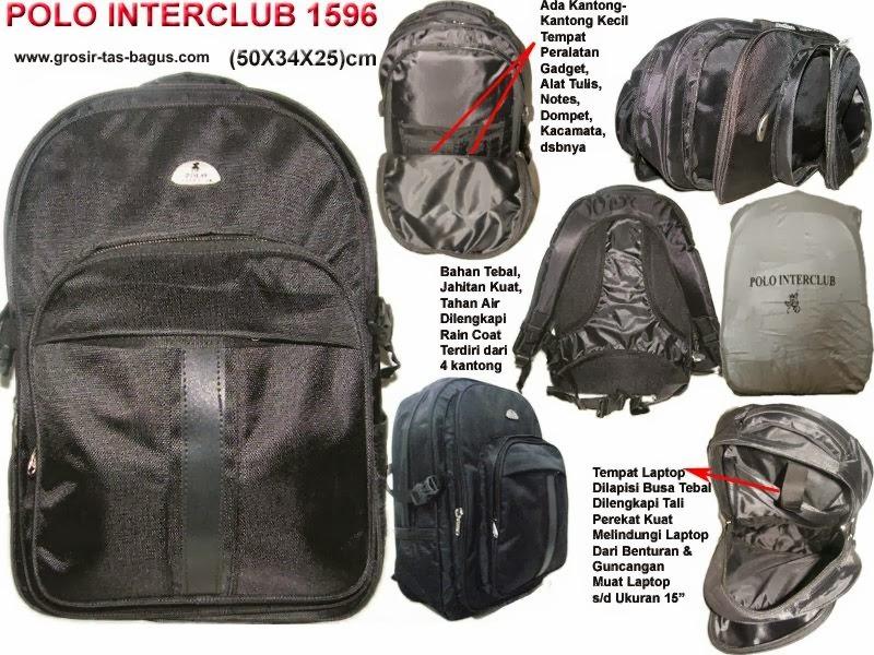 Free Zone Tas Ransel Laptop Pria Murah Dan Bagus Polo Interclub