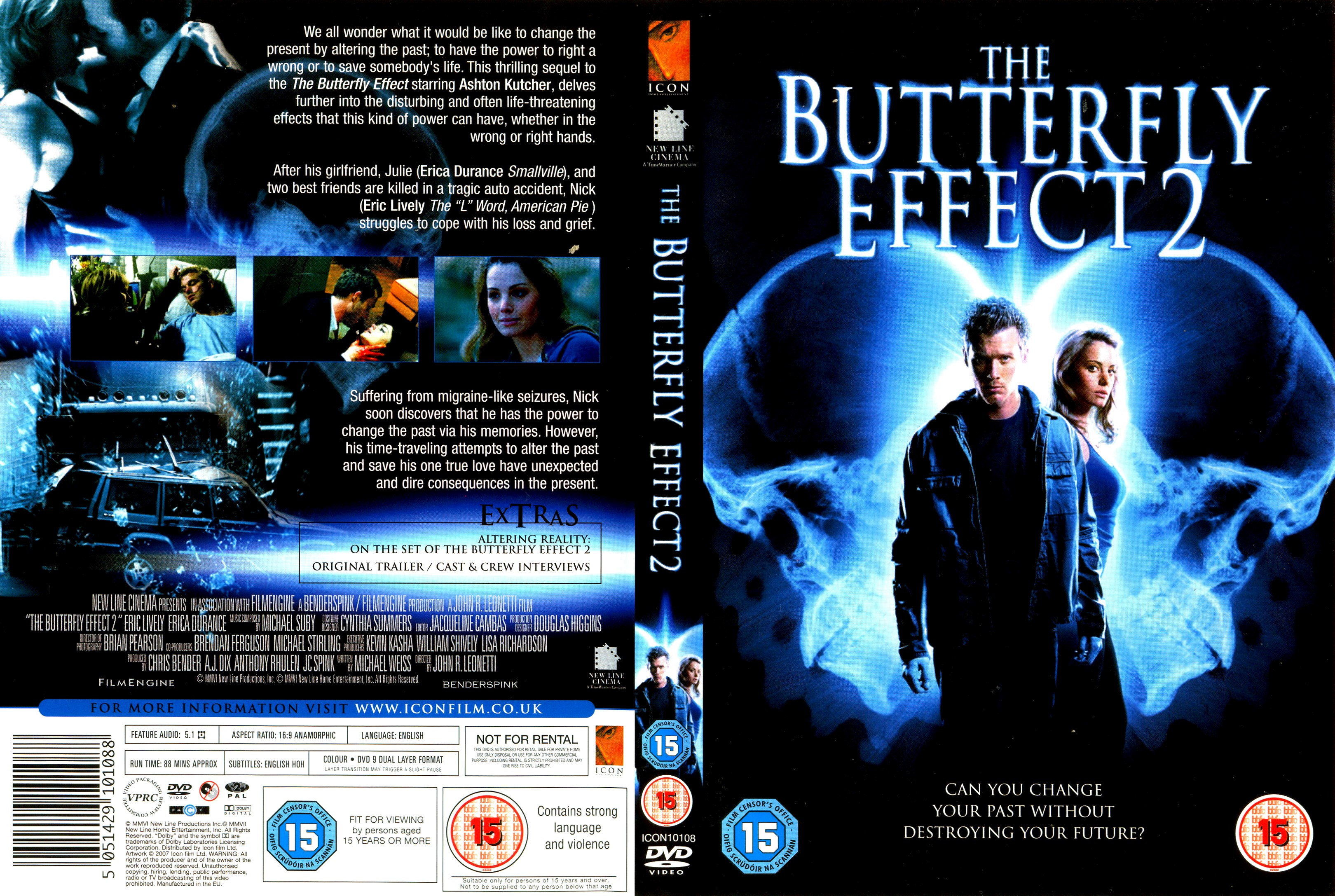 The Butterfly Effect 2 DVD Cover Cover Addict DVD