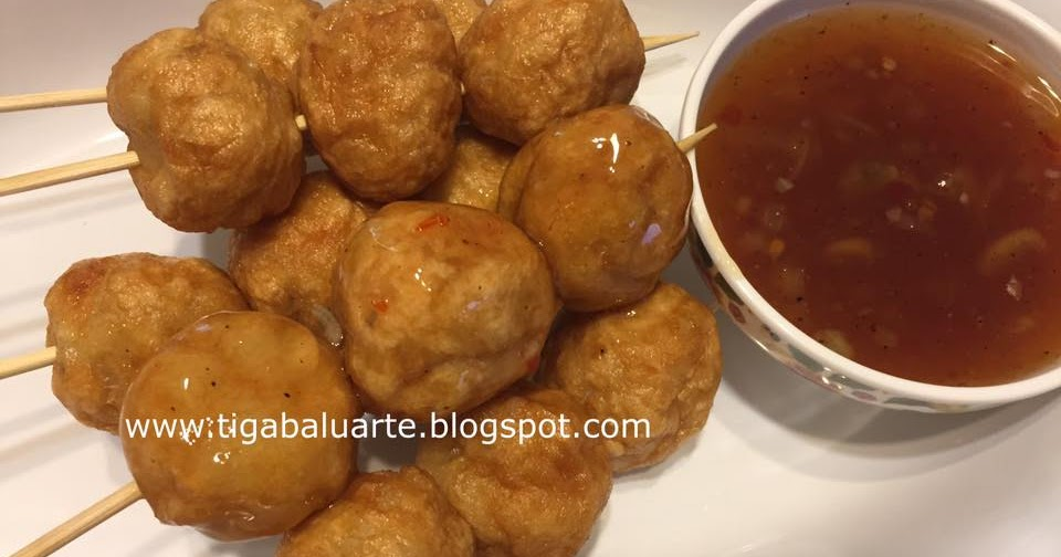 Casa baluarte filipino recipes homemade fish balls with for Homemade fish food